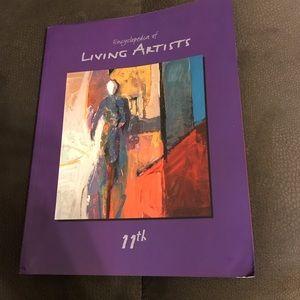 Encyclopedia of Living Artists. Like New.